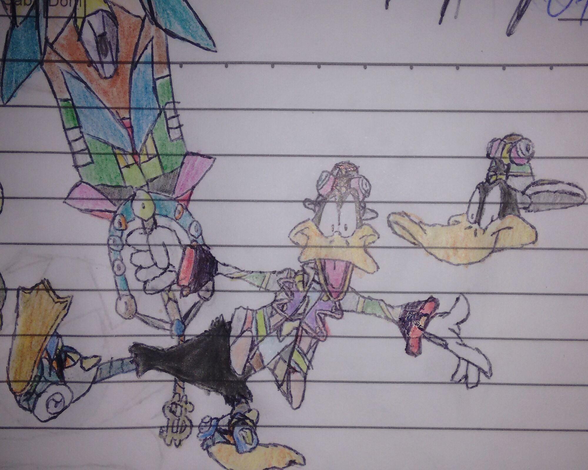 Daffy Duck Smash Legend Bros Joke Battles Wikia