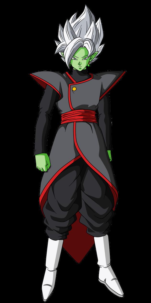 Zamasu black and zamasu fusion by nekoar-dam5clr