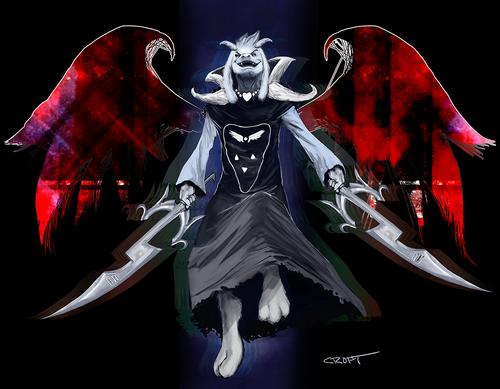 Asriel Dreemurr (Evolved)