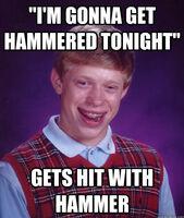 BLB Gets Hammered