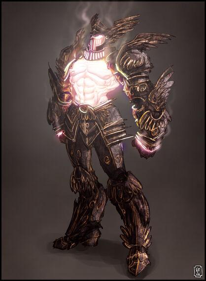 Zacri Shining Guardian Form