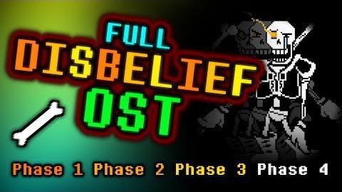 Video - FULL DISBELIEF OST Undertale-0   Joke Battles Wikia