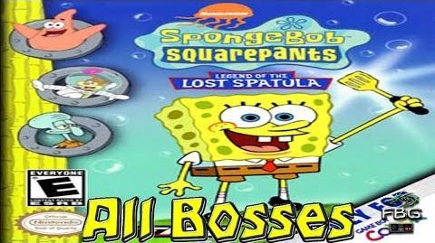 SpongeBob SquarePants Legend of the Lost Spatula All Bosses