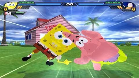 SpongeBob and Patrick Fusion - Bobtrick Star-Pants - DBZ Tenkaichi 3 (MOD)