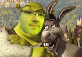 Shrek-n-donkey
