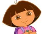 Dora The Explorer (Downplayed)
