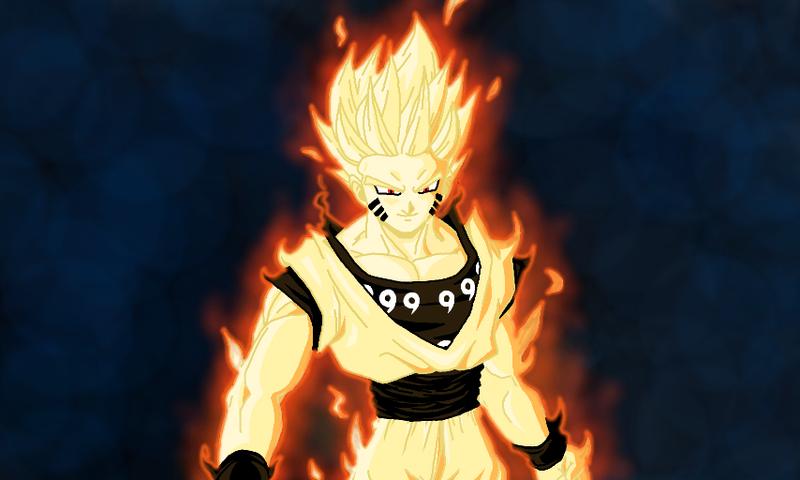 image goku s super saiyan bijuu mode by immortalavenger1000