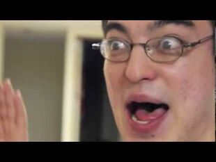Papa franku laughing