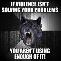 Insanity Wolf Violence