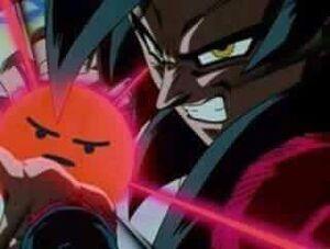 SSJ4 Goku Angry React KamehamehaX10