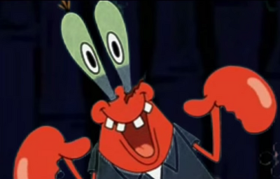 Mr. Krabs' Unquenchable Bloodlust