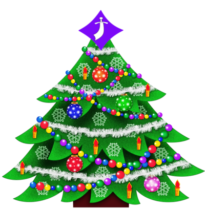 ZTransparent Christmas Tree Clipart Picture