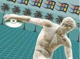 Greek Statue of Vaporwave