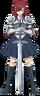 Erza Scarlet (slightly wanked)