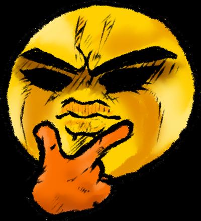 JoJo-Thinking Emoji