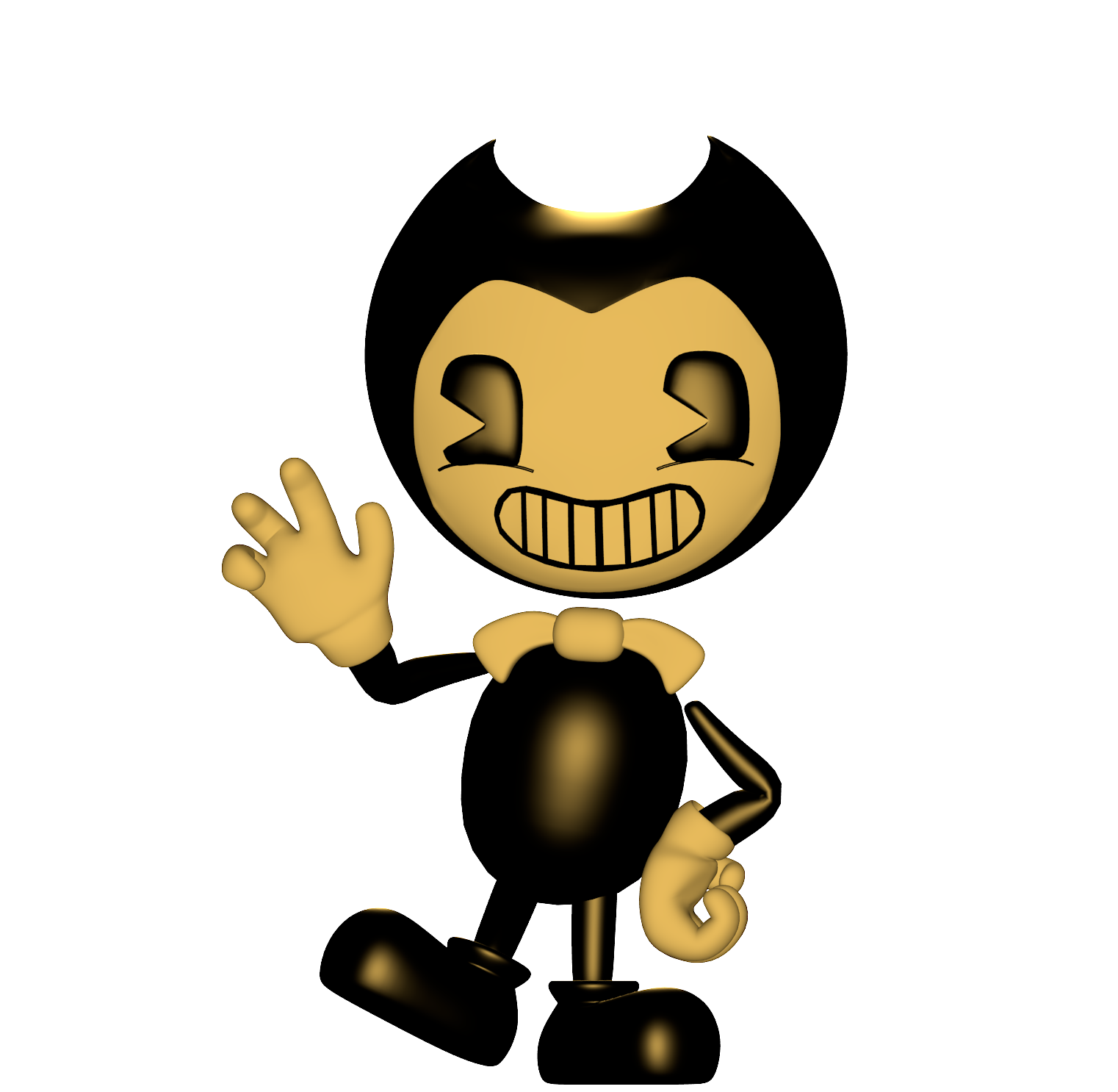 how to draw bendy characters