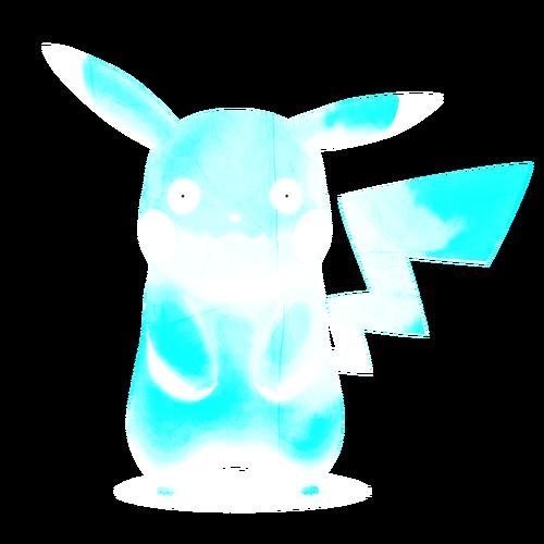 Zalgo Pikachu Lightning Mode