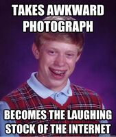 BLB Awkward Photograph