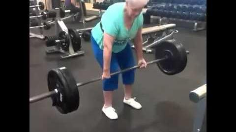 (Probably Older Than) 78 Year Old Woman Who Lifts More Than Crabwhale (At the Time)