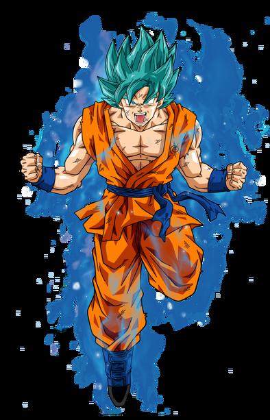 Goku super saiyan blue 2 by bardocksonic-d9guyzp