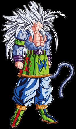Goku ssj5 by zodd89-d6pa0gd