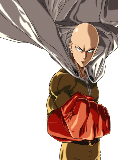 Edge!Saitama render by HIT IT, from an image by Nostra