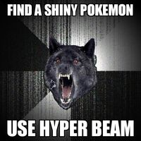 Insanity Wolf Shiny Pokemon