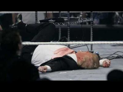 Drump destroyed by The Beast