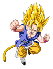 Ssj kid goku update by boscha196-d37w9uk