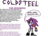 Coldsteel the Hedgeheg