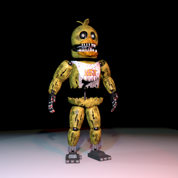 Rusty Chica Jolly Wiki Fandom Powered By Wikia