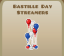 Bastille Day Streamers