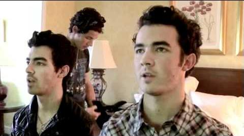 The Jonas Brothers are serious on tour