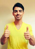 Joe Jonas Yellow