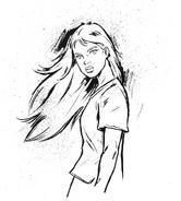 Jessie art by Larry Navarro
