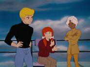 Jessie Bradshaw with Jonny and Hadji
