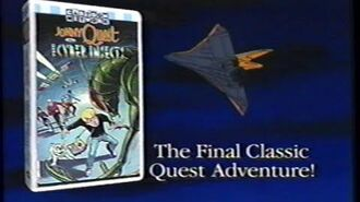 Jonny Quest Classic Episodes (1995) - Jonny Quest Vs The Cyber Insects (1995) Promo (VHS Capture)