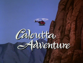 Calcutta Adventure title card