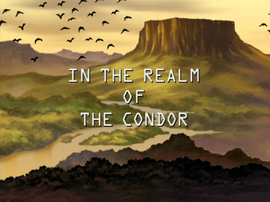 In the Realm of the Condor title card