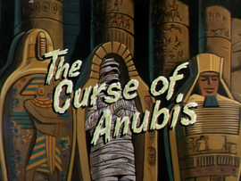 The Curse of Anubis title card