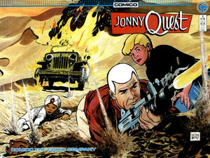 JQ (Comico) issue 1 wraparound