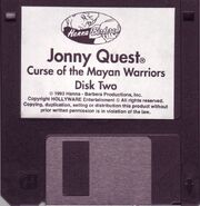 Curse of the Mayan Warriors disk two