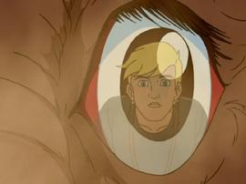 Jonny in Ndovu's eye
