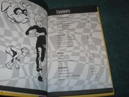 Character Reference Guide 1995 contents