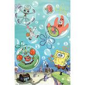 Spongebob-squarepants-bubbles-tv-poster-print
