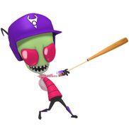 Zim - Nicktoons MLB 3D Official Artwork