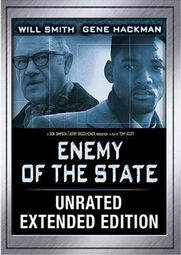 Enemy of the State-Will Smith-Gene Hackman-DVD