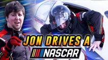 Racing a NASCAR Driver