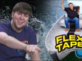 Waterproofing My Life With FLEX TAPE