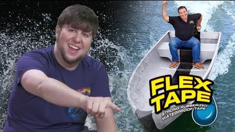 Waterproofing My Life With FLEX TAPE - JonTron